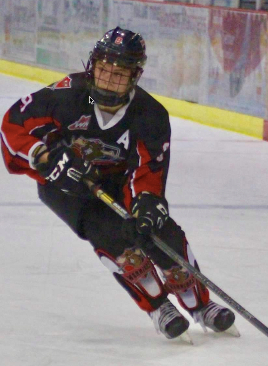 """... that achieved numerous personal bests in the 2017 – 2018 season without  a doubt - @crucks09 Connor Ruckaber (Moose Jaw Warriors AA, 5'9"""" and 170) …"""